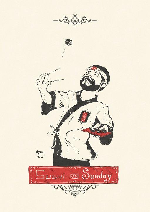 052_sushi-on-sunday_illustration