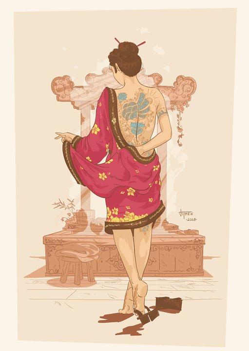 065_kimono_illustration